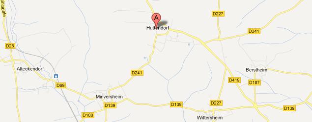 Map Huttendorf